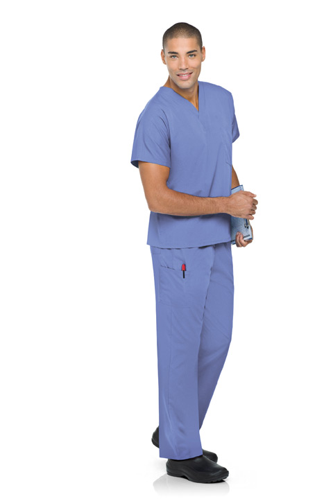 Scrub Zone Ceil Blue Scrubs